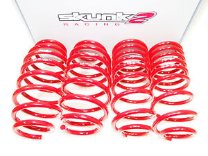 Skunk2 519 05 1775 Lowering Springs 16 18 Honda Civic Coupe Sedan Hatchback