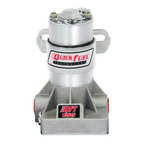 Quick Fuel Electric Fuel Pump 30 155qft In line 155gph Aluminum steel For Gas