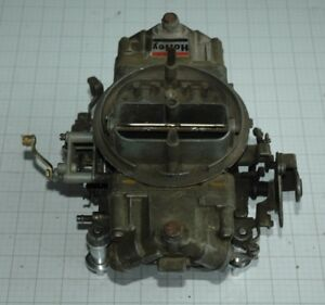 Holley List 4776 600cfm Double Pumper Carburetor Complete With Manual Choke