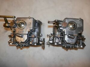 Alfa Romeo 2000 Weber 40 Dcoe Side Draft Carburetors