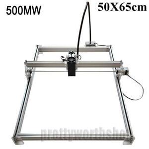 50x65cm 500mw Desktop Laser Engraving Machine Cutter Cnc Printer Image Marking