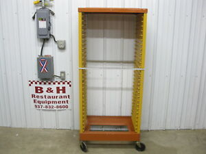 Rubbermaid Max Rack Closed Sides Mobile 18 X 26 Sheet Pan Bakery Rack 3414