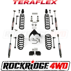 Teraflex 07 18 Jeep Wrangler Jk 2 Door 3 Lift Kit W 9550 Shocks 1251202