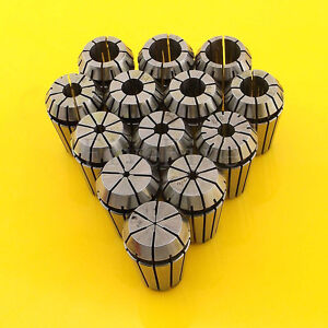 13pcs Er20 Spring Collet Chuck Tool Set Cnc 1mm 13mm New