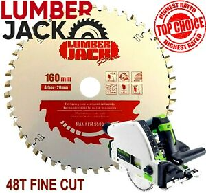Lumberjack Pro 48 Tooth Tct Fine Wood Blade For Festool Ts55 Circular Saw
