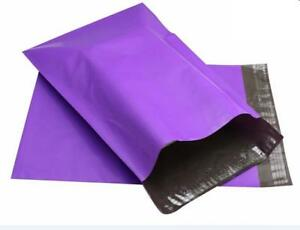 500 9x12 Poly Mailers 2 5 Mil Mailing Bag Envelopes Polybag Polymailer Purple