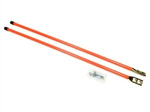 New Pair Of 36 Universal Snow Plow Blade Marker Guide Kit Fluorescent Orange
