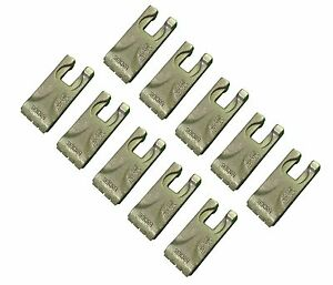 10 Carbide Auger Teeth 134519 40 50 Size Tooth For Pengo Aggressor Auger