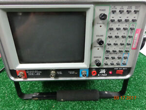 Ifr A 7550 Spectrum Analyzer Radio Test Equip Powers On Being Sold For Parts