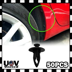 Bumper Under Engine Splash Guard Plastic Rivet Retainer Clip Fasteners Focus U9