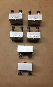 Machinist Metrology Precision Blocks Set Of 6 45mm 40mm And Other Clean