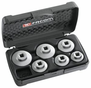 Facom 3 8 Drive 6 Piece Automotive Cartridge Filter Socket Set