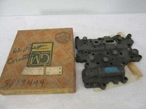 Nos 1962 Chevrolet Corvette Transmission Lower Valve Body Assembly Gm 3819444 Dp