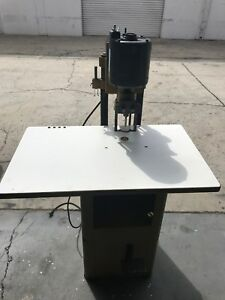 Used Challenge Jf Paper Drill Spinnit Single hole Punch Machine
