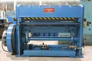 Braner 72 X 1 4 Cut to length line Mechanical Shear B36934