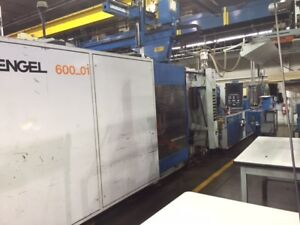 Engel Es 3500 600 Plastic Injection Molder B35995