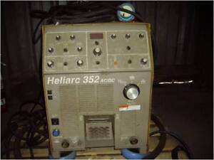 Esab Heliarc 352 Ac dc Tig Welding Power Supply B33696