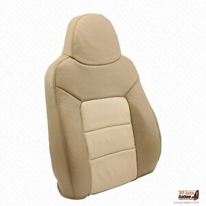 2004 Ford Expedition Eddie Bauer Driver Lean Back Cover Perforated Leather Tan