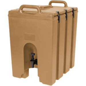 Cambro 1000lcd157 Camtainer 11 3 4 Gallon Beverage Carrier Beige