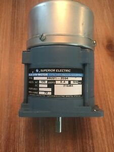 Superior Electric Slo Syn Motor Synchronus Stepping Ss221 2034