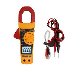 Vc902 Digital Lcd Clamp Ac Dc Volt Current Ohm Tester Multi meter