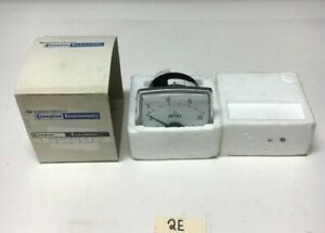 New Crompton Instruments 02aa Lsng Ac Amperes Panel Meter 0 20a Warranty