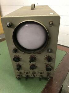 Vintage Heathkit 5 Push Push Model 0 8 Oscilloscope No Power