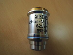 Zeiss Epiplan apo Insp 64x 0 73 Infinity 0 Objective Free Expedited Shipping