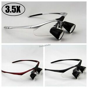High End 3 5x Dental Loupes Binocular Medical Loupe Surgical Magnifier Glass Ttl