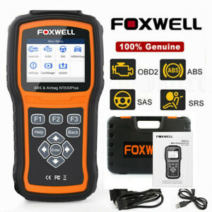 Abs Airbag Srs Reset Obd2 Code Reader Diagnostic Scanner Foxwell Nt630 Pro Us