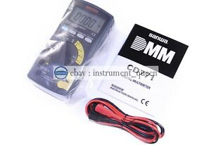 Digital Multimeters standard Type Backlight Cont Buzzer With Led Sanwa Cd771