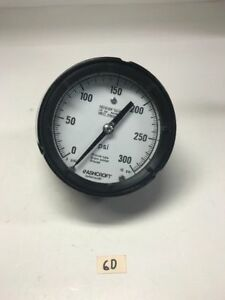 Ashcroft Receiver Gauge 25 Psi Max Input Pressure fast Shipping Warranty