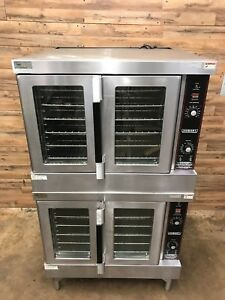 Hobart Hgc5 Series Double Stack Gas Convection Oven