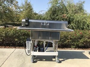Portable Sink Hot Water