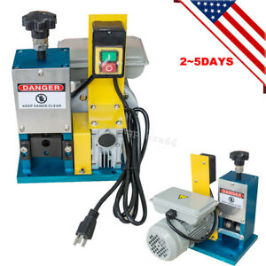 Powered Electric Wire Stripping Stripper Machine Motorized Copper Usa Seller