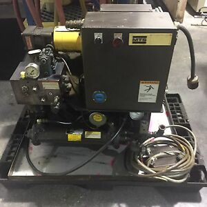 1 Used Mts 506 02 6 4 Gpm 3000psi Hydraulic Power Supply