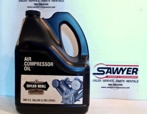 Saylor beall Air Compressor Oil 1 Gallon 3 785 L Splash Lube Pump Engine