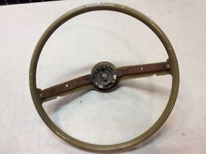 1970 1971 1972 1973 Ford Vintage Steering Wheel Original Classic