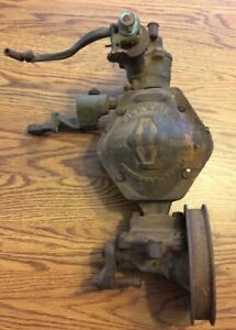 Pickering Governor Co Flyball Antique Tractor Hit And Miss Engine Steam Thresher