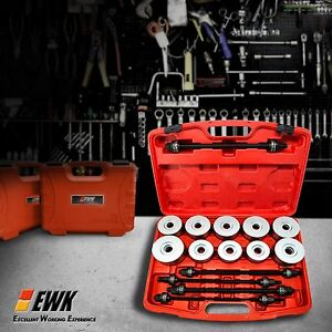 Ewk 27pc Bearing Press Pull Kit Bushing Installation Bush Removal Tool Sleeve