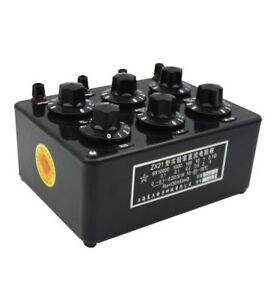 New Zx21 Type Precision Variable Decade Resistor Resistance Box