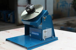 By 10 Rotary Welding Positioner Turntable Mini 2 5 3 Jaw Lathe Chuck F