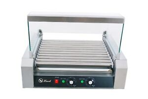Commercial Hot Dog 11 Rollers Grilling Machine With Cover