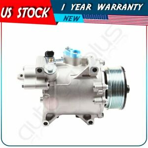 Ac Compressor Fit Co 4919ac 06 11 Honda Civic Acura Csx 2 0l 38800rrba010