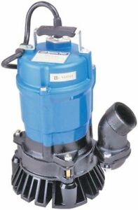 New Tsurumi Hs2 4s 61 2 Submersible Trash Pump 1 2 Hp Motor