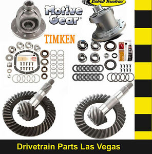 Motive Dana 35 30 Gear Set Pkg W Master Kit 4 88 Ratio Detroit Truetrac Posi