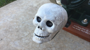 Maytag White Skull 92 hit miss Gas Engine Biker Exhaust Muffler Engine Show