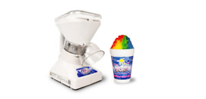 Little Snowie 2 Ice Shaver Maker Crusher Machine Snow Cone W Syrup Sample