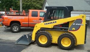 Used Yanmar Skid Steer S220 r1 Low Hours Runs Great Cab W Heat And Air