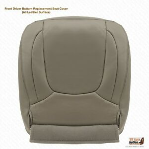 2004 2005 Dodge Ram 1500 Lamarie Driver Bottom Replacement Leather Cover Taupe